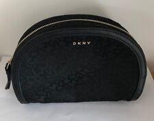 Make Up Bag  **BNIP** DKNY Black Patent Clutch