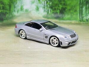Jada Mercedes SL65 AMG Diecast Model Car 1:64 - Excellent Condition