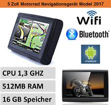 5 Zoll PKW Navigationsgerät,Bluetooth,Android,WIFI,Motorrad,Wasserdicht,Outdoor
