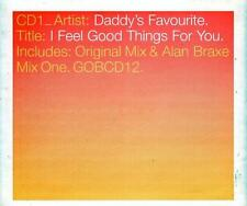 Daddy's Favourite - I Feel Good Things For You (3 trk CD)