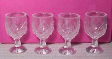 (Y) ACCESSORY ~ MINIATURE WINE GLASSES GOBLETS PLASTIC CUPS BARBIE DOLL DIORAMA
