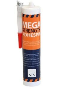 NO MORE PLY MEGA STRENGTH ADHESIVE HIGH GRAB FOR CEMENT BOARDS PU POLYURETHANE