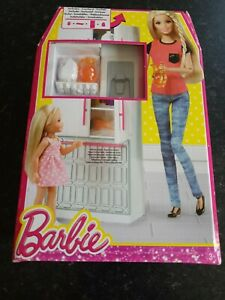 Barbie Fridge includes egg tray jug and milk carton NEW in box