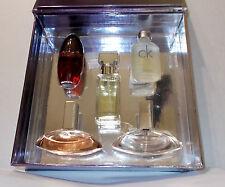 Calvin Klein 5 Bottle gift set Euphoria CK One Obsession Eternity