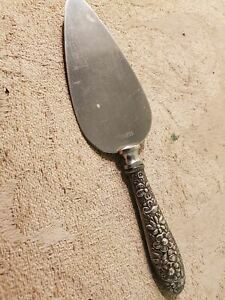 Manchester Sterling cheese server Sothern Rose