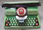 Vintage Mettoy Supertype Tinplate Typewriter