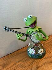 Grand Jester Kermit the Frog Enesco Bust Disney Muppets