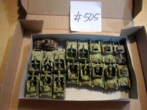 #505 1:72 fertig bemalte Bausätze Fertigmodelle WKII 17x Grille + 38(t)  Panzer