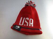 NEW ERA GOLF Ryder Cup Women's Knit Red USA Toboggan NE-CR12