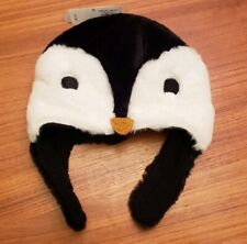 Old Navy Toddler Boys / Girls UNISEX 2T-3T Plush PENGUIN Winter Hat Faux #31719