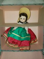 Madam Alexander 1960 Italian Doll #793 bent knee in original box