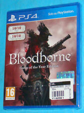 Bloodborne Game Of The Year Edition - Sony Playstation 4 PS4 PAL New Nuovo