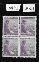 MNH Stamp block /  Adolph Hitler / 60hal + 1.40 Kr / 1943 Birthday / Third Reich