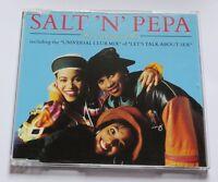 SALT 'N' PEPA - YOU SHOWED ME -  Maxi CD  MCD - LET'S TALK ABOUT SEX