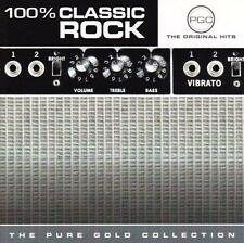 100% CLASSIC ROCK CD: Jethro Tull*Foreigner*George Thorogood*Pat Benatar*Boston