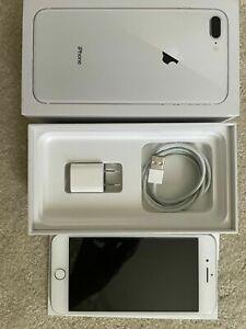 Apple iPhone 8 Plus - 256GB - Silver (Unlocked) A1864 (CDMA   GSM)