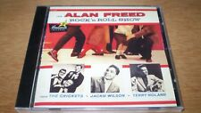 THE ALAN FREED ROCK N ROLL SHOW  CD Signed #erd Terry Noland The Crickets Wilson