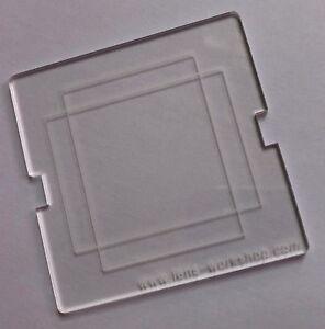 Viewfinder Mask 33x44mm Hasselblad V Camera CFV 50C Phase One Leaf Digital Back