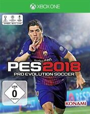 Xbox One Jeu PES 2018 pro evolution soccer 18 Football version allemande NEUF