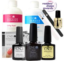 CND Shellac Starter Kit, Top/Base/Essentials/Color Fedora