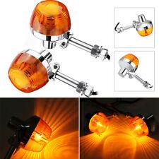 2x Motorcycle Turn Signal Blinker Indicator Light For Honda C70 CT70 CT90 CB450