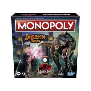 Gioco Monopoly Jurassic Park, effetti sonori, 2-6 giocatori, età 8+