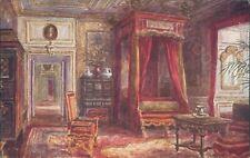 Warwick castle queen anne's bedroom 843 J salmon