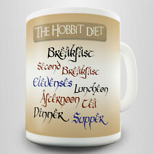 Hobbit Diet Gift Mug - Inspired by Tolkien's Lord of the Rings
