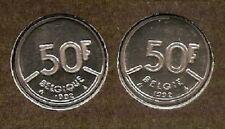 50 frank 1992 fr+vl * uit muntenset * FDC / UNC *