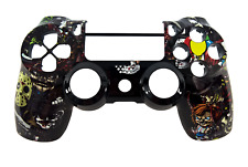 PlayStation 4 JDM-040 Controller Custom Horror Replacement Front Shell Case PS4