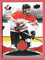 2016-17 Connor Hall Upper Deck Team Canada Juniors Jersey - Pittsburgh Penguins