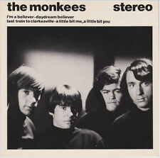 "The Monkees 1980 EP 7"" 45rpm UK very rare  Arista stereo vinyl record ( good + )"