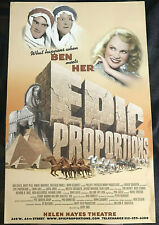 Epic Proportions Kristin Chenoweth Broadway window card 1999