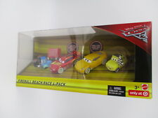 Brand New Disney Pixar CARS 3 FIREBALL BEACH RACE 4-Pack Target Exclusive
