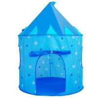 Spielzeug Wunderschön Blau Zelt Märchen Schloss für Kinder von 3 bis 10 Jahren