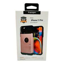 iPhone 11 Pro Spigen Slim Armor Shockproof Phone Case Color Rose Gold
