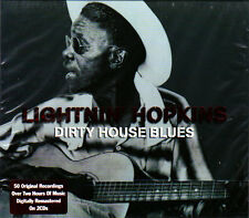 LIGHTNIN' HOPKINS - DIRTY HOUSE BLUES (NEW SEALED 2CD)