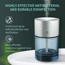 Automatic Spray Touchless Alcohol Sanitizer Dispenser Infrared Aluminum & Glass