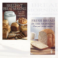 Fresh Bread in the Morning,Brilliant Breadmaking 2 Books Collection Set