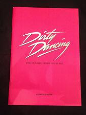 """Dirty Dancing"" Musical Progammheft London ""Aldwych Theatre"" 2009"