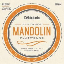 D'Addario EFW74 Flat Wound Mandolin Strings 11-36