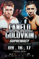 Gennady Golovkin vs Canelo Alvarez (1)/ORIGINAL sur le site de boxe Fight Poster