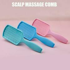 Women Hair Scalp Massage Comb Nylon Hair brush Wet Detangler Hot Curly Sale L1U2