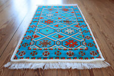 Carpet,Runner, 65x120 cm, ,Area Rug,oriental,Kelim,Washable,S1-2-02