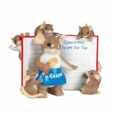Charming Tails Mice 'Grandma Knows To Cook Up Fun' Gifts for Nan, 89372