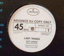 "LAST TANGO - City Lights ~ 12"" Single PROMO"
