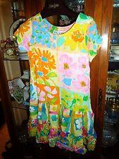 Jams World  RARE Girls Hattie Hawaiian Dress FAB NEW NWT FLORA DORA  L