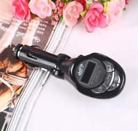 Car MP3 Player Wireless FM Transmitter Modulator USB SD CD MMC Remote Durable