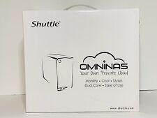 Shuttle OmniNAS KD20 Network Attached Strorage Server NAS, 2-Bay RAID