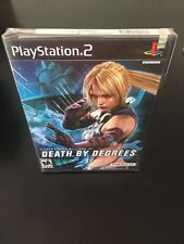 Death By Degrees TEKKEN Playstation 2 PS2 BRAND NEW Game